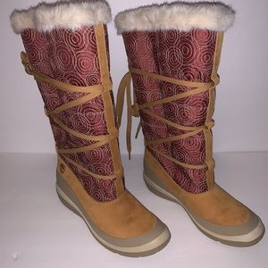 Timberland Snow High Fur Boots